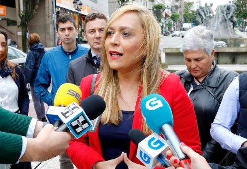 """@elenamunozf advierte a @abelcaballero que el bulevar de Gran Vía es patrimonio de los vigueses y que incumplir la ley a sabiendas """"es prevaricar"""""""