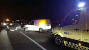 71 personas feridas en 50 accidentes rexistrados nas estradas galegas a pasada fin de semana