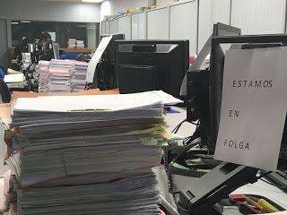 17.000 xuízos e actos xurisdicionais víronse afactados pola folga na Xustiza de Galicia