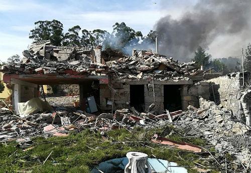 El vicepresidente de Gobierno de Galicia confirma que una persona ha muerto y 27 han resultado heridas en la explosión de Tui