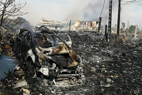 18 heridos en la explosión de Tui han sido dados de alta y otros 6 siguen hospitalizados con traumatismos, fracturas y quemaduras