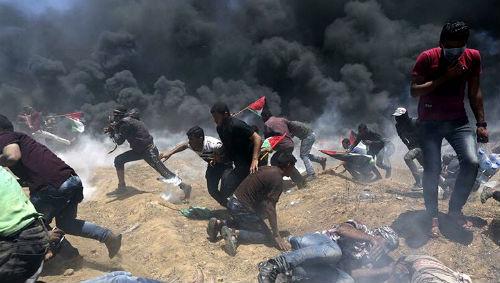 El Ejército de Israel mata a a 41 palestinos de la Franja de Gaza durante un ataque lanzado este lunes
