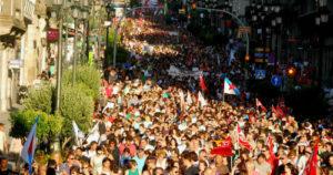 Convocadas para este martes, día 22, manifestacións en toda Galicia en defensa das pensións públicas