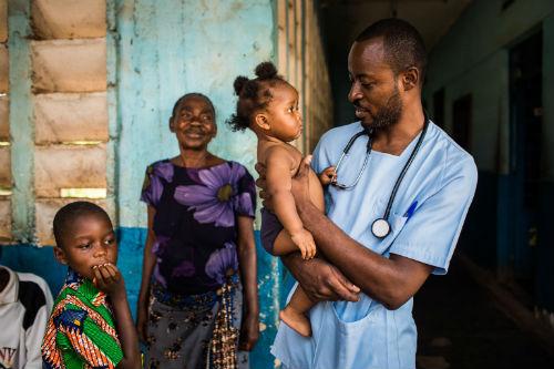 400.000 niños menores de 5 años de la región de Kasai, en el Congo, en riesgo de muerte por desnutrición severa