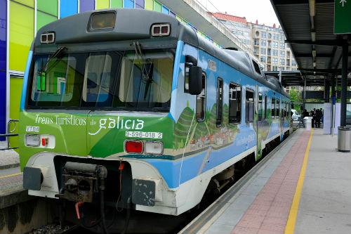 O programa de 'Trens Turísticos de Galicia', empeza este sábado cun cen por cen de ocupación