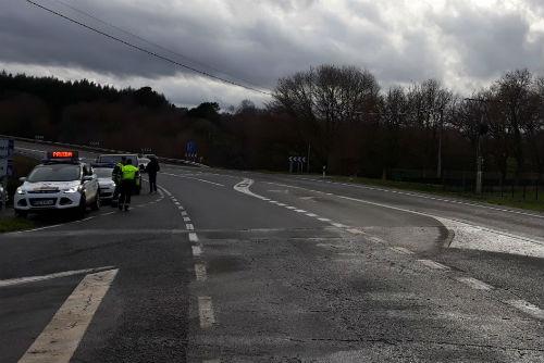 @guardiacivil realizó el mes de mayo algo más de  22.000 pruebas de alcohol y drogas en las carreteras de la provincia de Pontevedra
