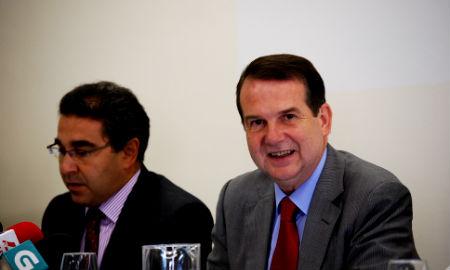 El alcalde y el director de Aqualia Vigo