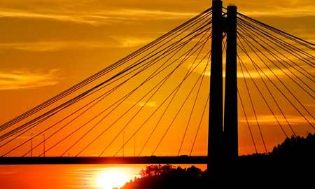 El puente de Rande