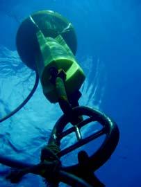 Os sensores só tocan a auga no momento da medición.