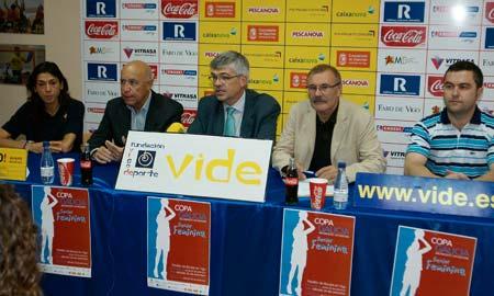 Presentación de la Copa Galicia en la Fundación Vide.