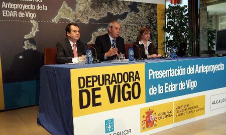 Presentación del proyecto de depuradora en noviembre de 2008