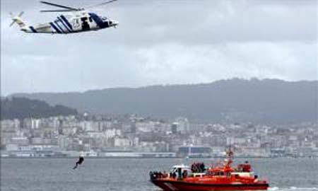 Imagen del rescate (Telecinco).