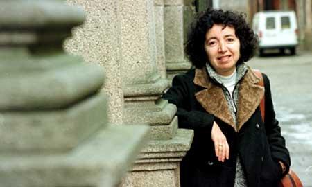 A escritora Marilar Aleixandre.