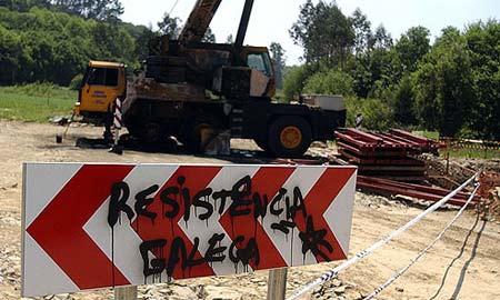 Pintadas de Resistencia Galega
