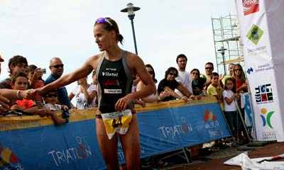 La campeona de España de triatlón. Autor: Ana Rodríguez.