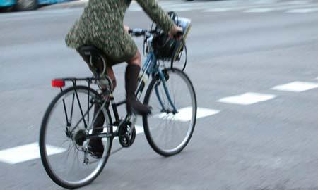 Uno de los atropellados fue un ciclista.
