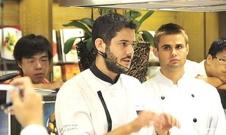 El chef brionés Daniel Negreira.