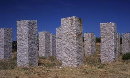 El granito de O Porriño se usa en la mayoría de las obras del Plan E.