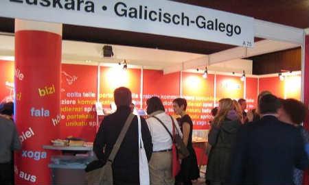 Stand galego en Expolingua
