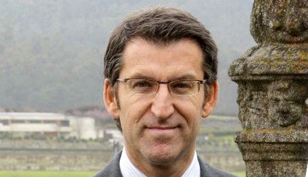O presidente da Xunta, Alberto Núñez Feijóo.