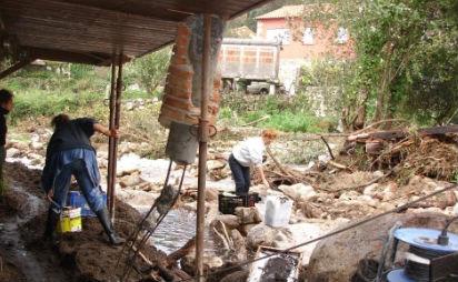 Inundaciones en Oia