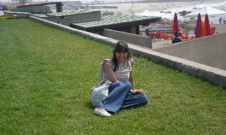 Isabel Alfonso en uno de sus pocos días libres de estudio