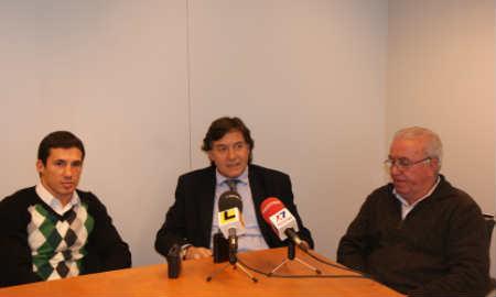 Encuentro de Lete con Iván Pozo y su entrenador, Amoedo