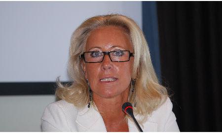 Corina Porro, presidenta de la Autoridad Portuaria.