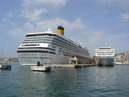 Estructura 'Duques de Alba' similar a la que se va a instalar en el Puerto de Vigo