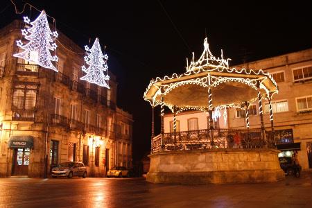 Alumeado de Nadal en Tui.