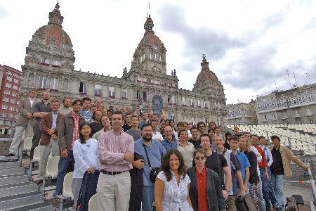 La Orquesta Sinfónica de Galicia.