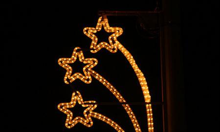 Motivo navideño utilizado en Vigo (Contando Estrelas)