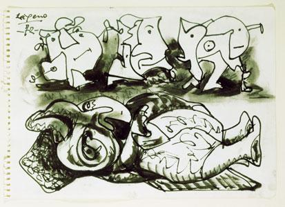 Un debuxo de Laxeiro