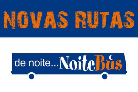 O Noitebus consolídase como alternativa ao vehículo privado.
