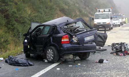 Este fin de semana hubo 92 heridos en Galicia.