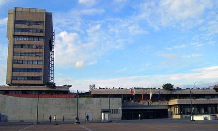 El edificio del Concello necesita una remodelación. Foto: Amaneiro.