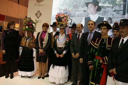 Presentación de las danzas  del Morrazo.