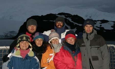 O grupo de investigadores da Universidade de Vigo.