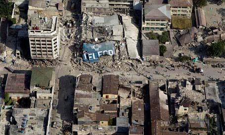 Puerto Príncipe ha quedado arrasado.