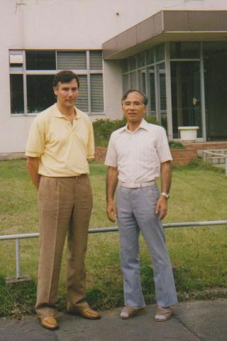 Takeshi Yasumoto e José Antonio Rodríguez.