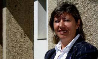 La conselleira de Mar, Rosa Quintana.