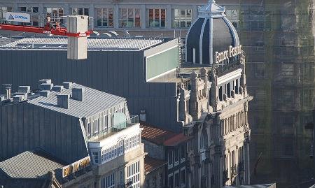 Sede central del Banco Pastor en Vigo