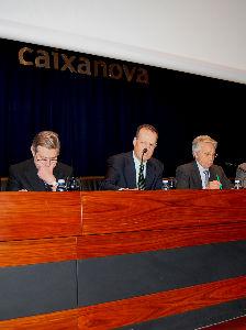 ültima asamblea general de Caixanova, celebrada hace unas semanas en Vigo