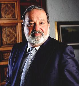 El magnate mexicano Carlos Slim, según la revista Forbes, el hombre más rico del mundo