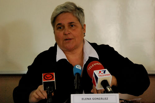 Elena Gonzñález, presidenta dela Federación de Asociaciones de Veciños de Vigo