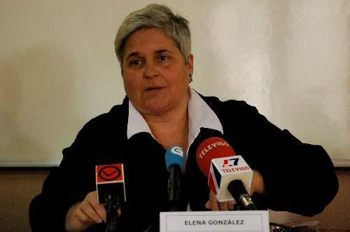 La actual presidenta de la Favec, Elena González. Foto: Tresyuno Comunicación.