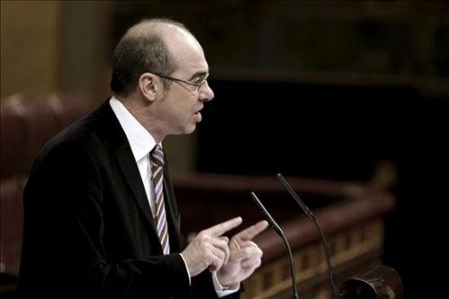 El diputado Jorquera en un Pleno del Congreso de los Diputados