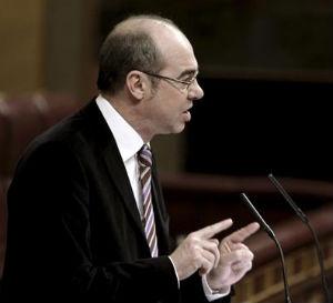 El diputado del BNG Francisco Jorquera, fue quien impulsó la mociójn aprobada hoy por el Pleno del Congreso