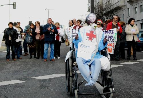 Manifestación sanidade/vigoalminuto.com