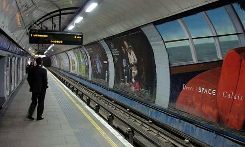 La estación de Victoria, una de las más concurridas de Londres.